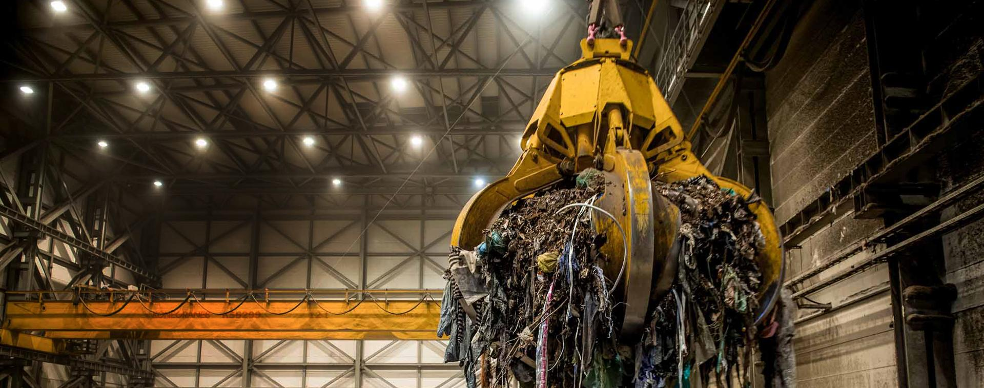 waste to crane energy benefits