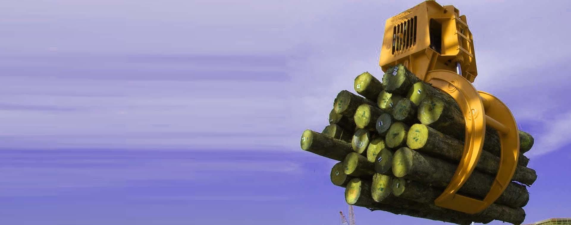 log grabs