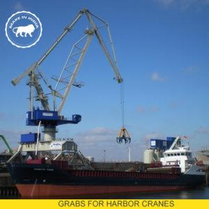 GRABS FOR SHIP UNLOADERS