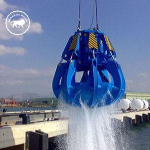 Electro Hydraulic Grab Bucket